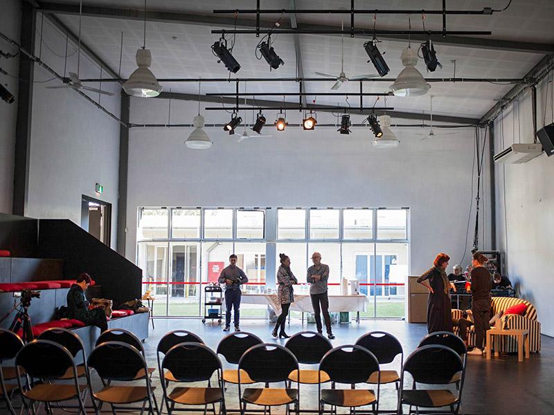 TNN backstage at Building Audience Diversity 2015